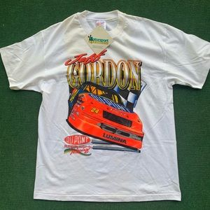 Vintage Jeff Gordon Shirt 1993 White NWT NASCAR